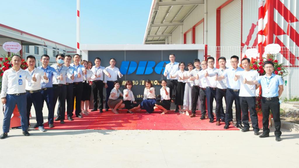 越南开业 1024x576 - DBG Vietnam start production